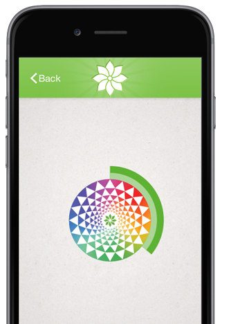 Mindfulness App is available in the App Store and Google