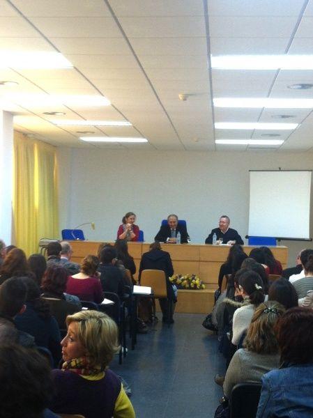 Conferencia en la BICC del profesor Ricardo Senabre (2012) #conferencias #Ricardo_Senabre #biblioteca #uex