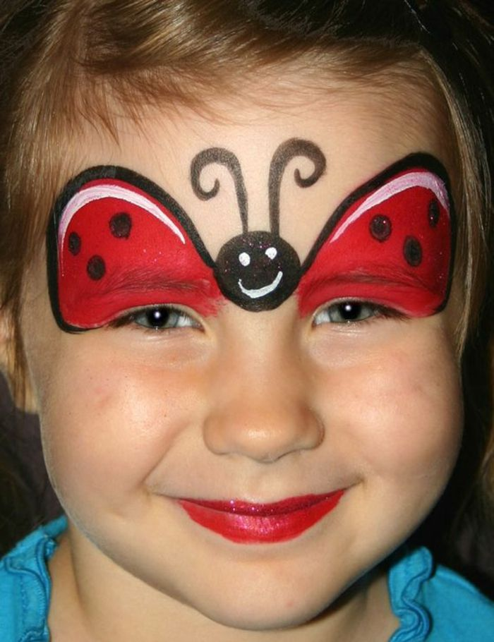 1001 id es cr atives pour maquillage pour enfants pinterest modele maquillage enfant - Modele maquillage fille ...