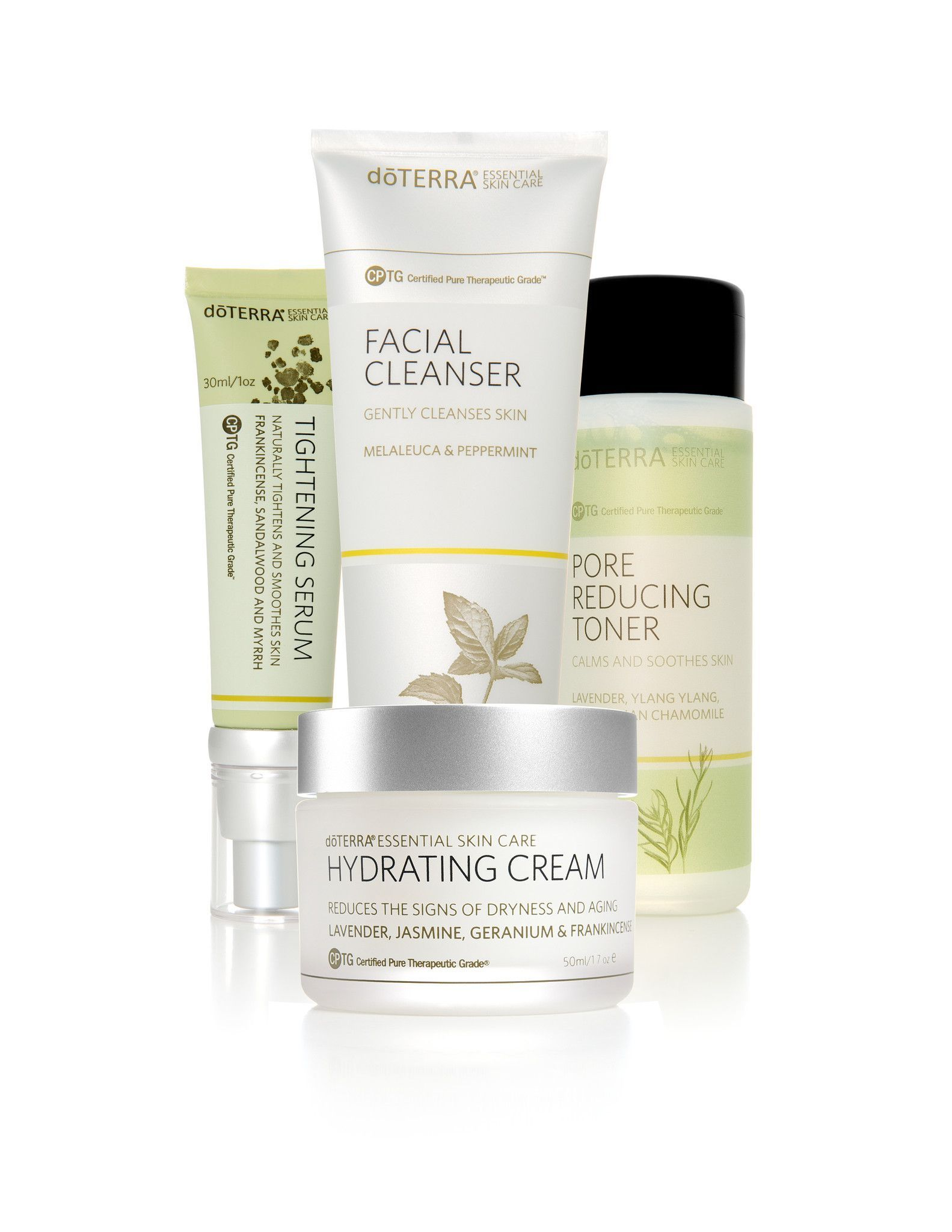 Skin Care System With Hydrating Cream Skin Care System Skin Care Essentials Hydrating Cream