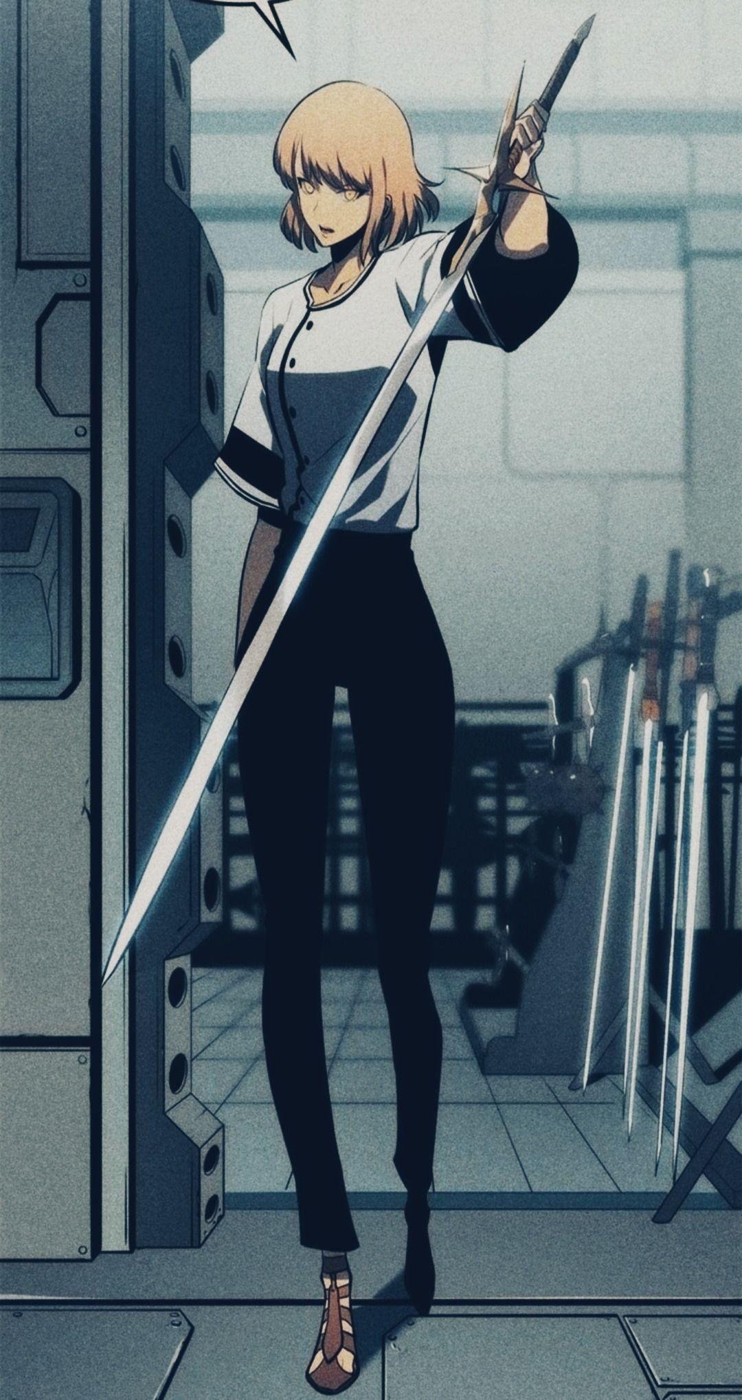 Cha Hae In Solo Leveling Anime Manhwa Manga