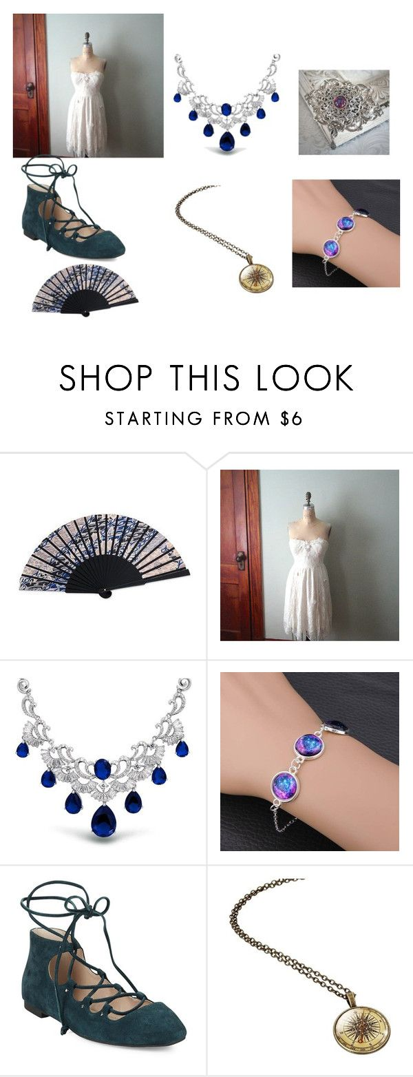 """""""Victorian Ball #19"""" by nikkiannthefandomprincess on Polyvore featuring NOVICA, Bling Jewelry and French Connection"""