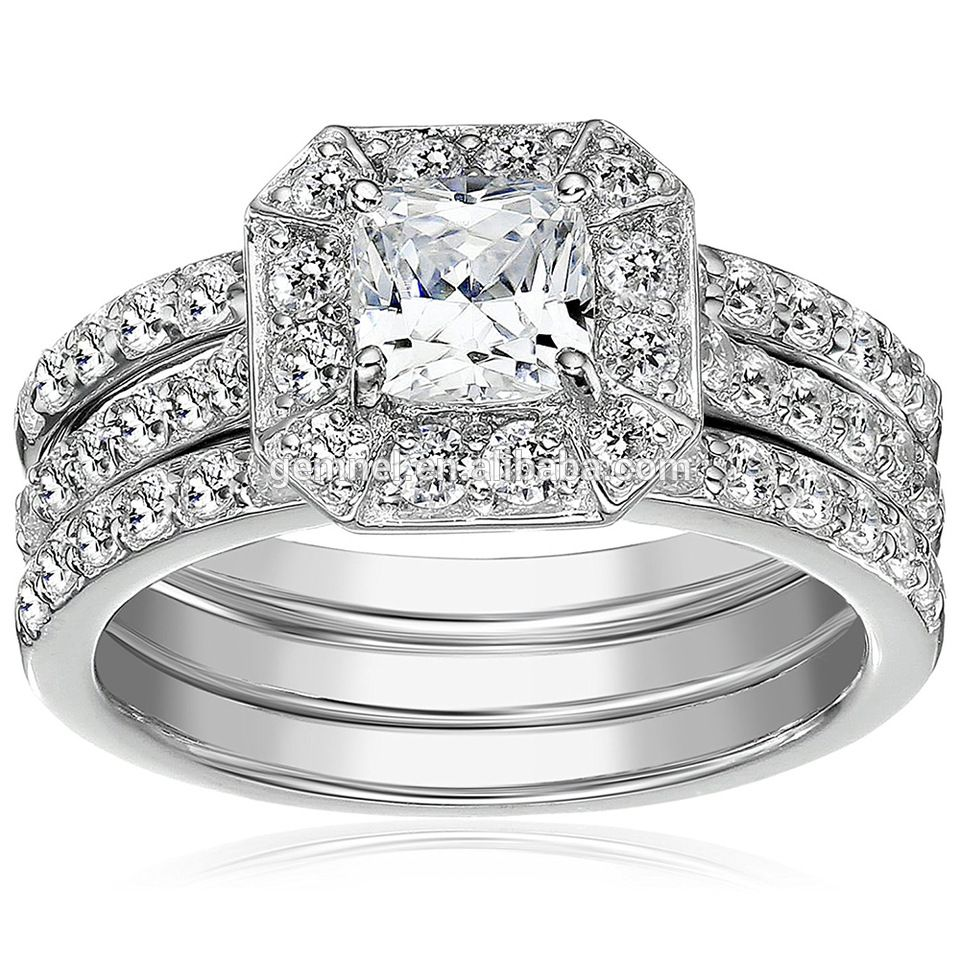 Fashion new model silver ring, Cubic zirconia jewelry