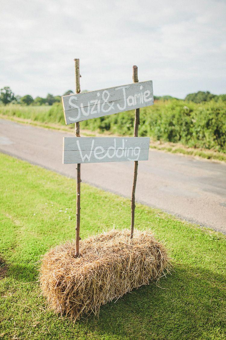 Photo of Eliza Jane Howell Glamour for a Family Farm Wedding in Northumberland | Love My Dress® UK Wedding Blog + Wedding Directory