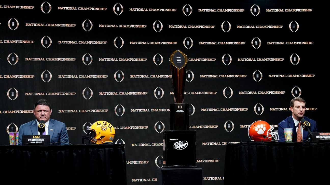 College Football Playoff National Championship picks from