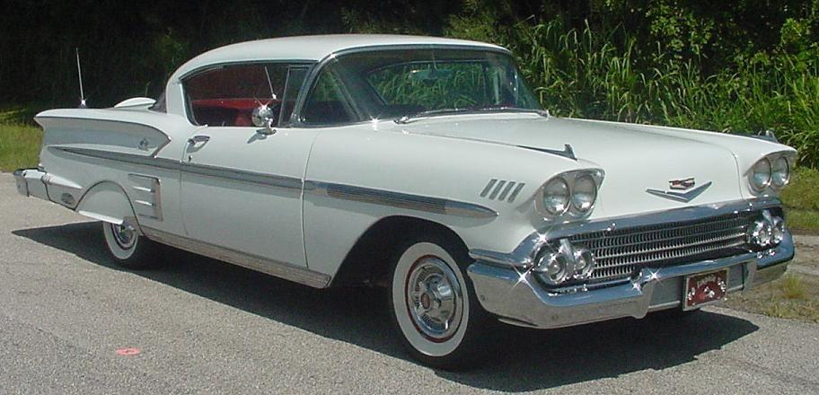 chevy impala  1958 Chevrolet Impala  Pictures  1958 Chevrolet