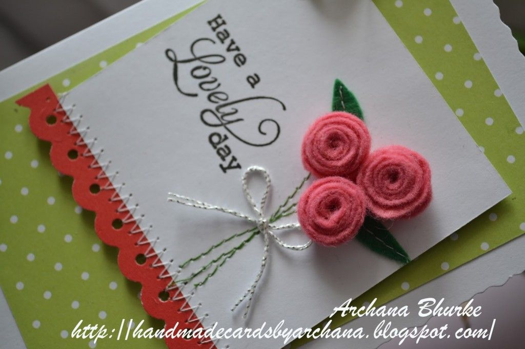 Making Handmade Cards Ideas Part - 28: 30 Cool Handmade Card Ideas For Birthday, Christmas And Other Special  Occasions