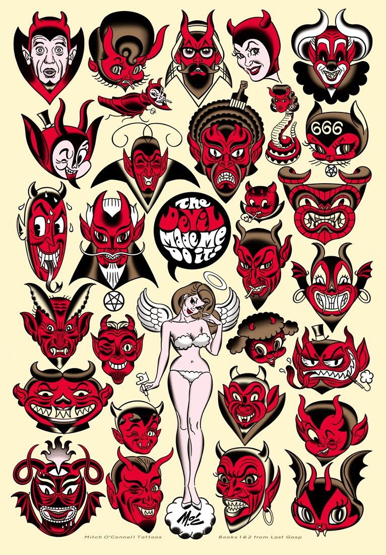 5a7c21be0 The Devil Made Me Do It! by Mitch O'Connell | Random Cool Things ...