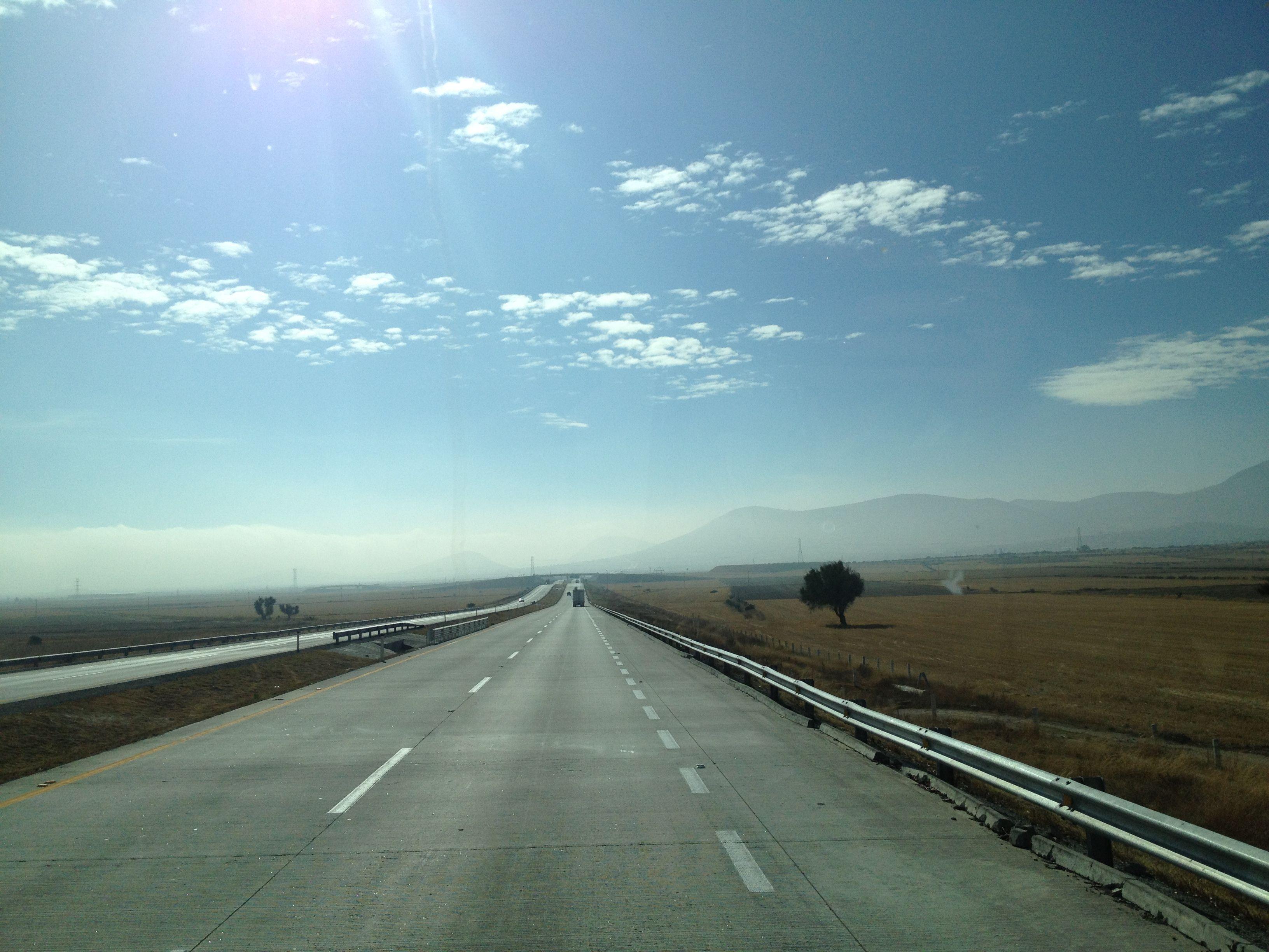 Horizonte claro y despejado...Rumbo a Puebla!!!