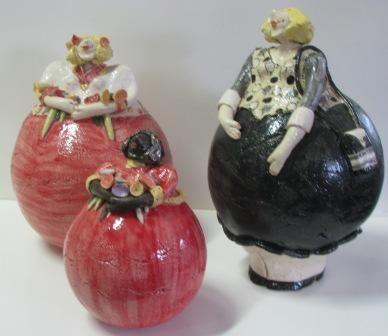 drie dikke dames van Silvia Schumer | Fat Figures | Fat ...