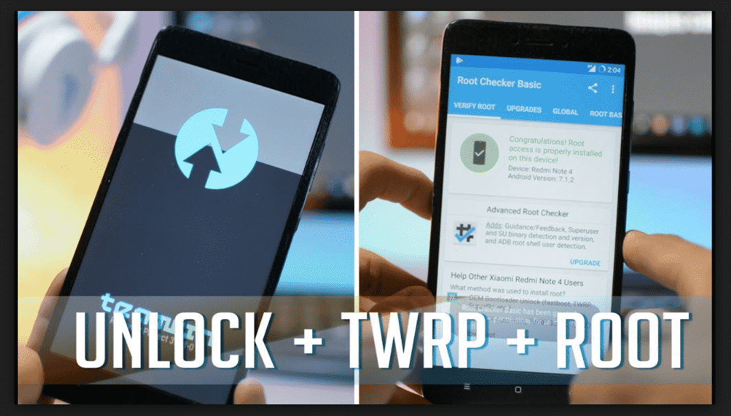 Tips Android - Cara Instal TWRP dan Root Redmi Note 4