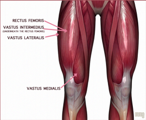 Running downhill and downstairs can cause a DOMS effect in your quad muscles