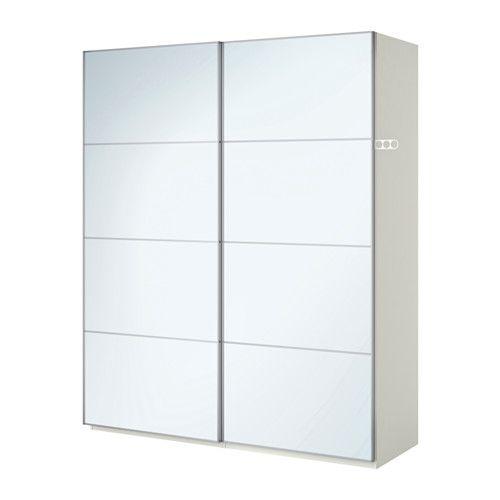 PAX Guardaroba - ammortizzatore, 200x66x236 cm - IKEA Camera da - armoire ikea porte coulissante