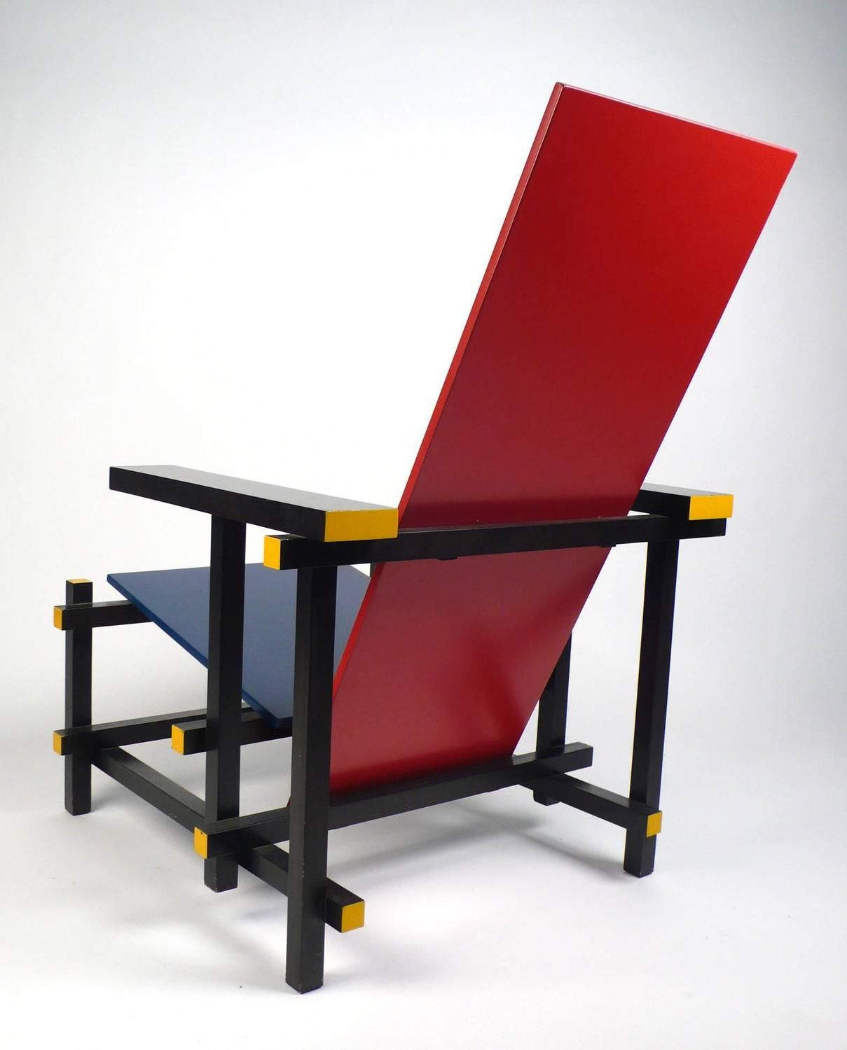 Gerrit rietveld chair for sale - Furniture Vintage Gerrit Rietveld