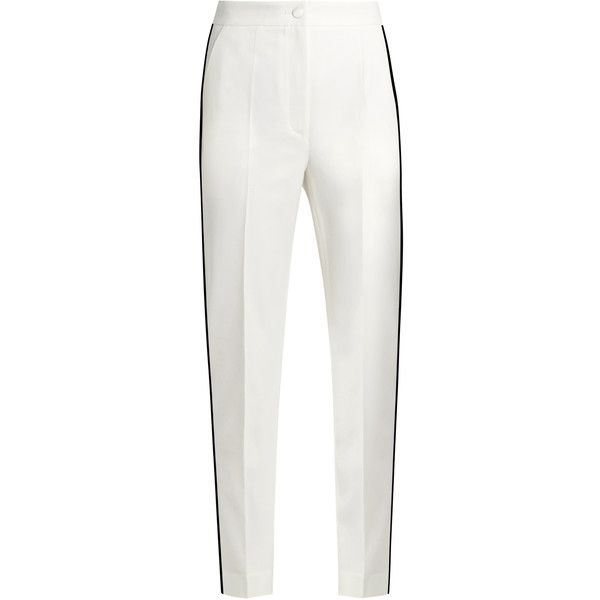 Dolce & Gabbana High-Rise Straight-Leg Pants Factory Outlet Sale Online 2018 Unisex Buy Cheap How Much WYouNjp8Zi