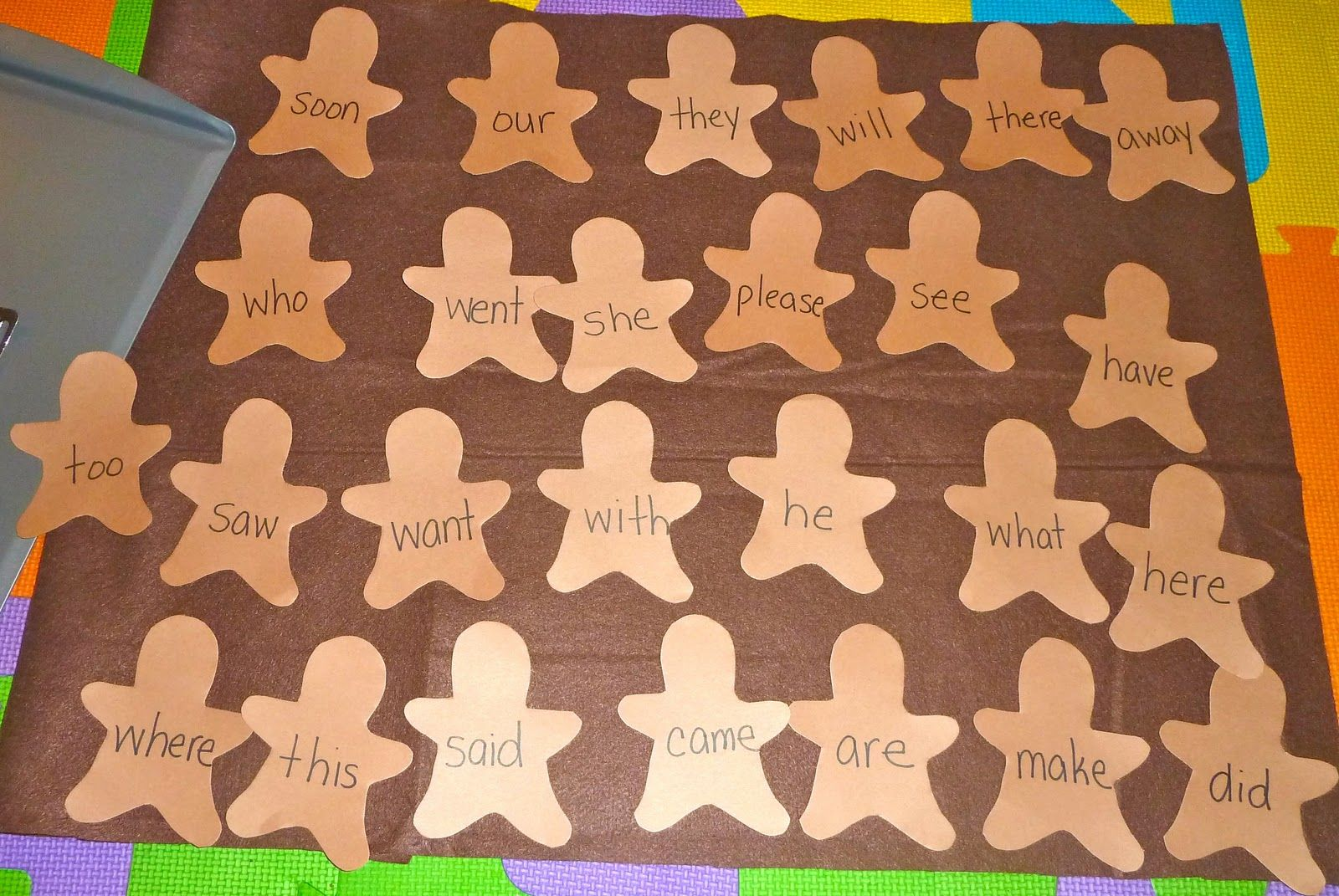 Christmas Themed Sight Word Activities