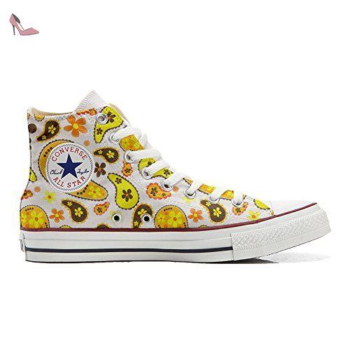 Chaussures Unisex Et Hi Imprimés Personnalisé All Converse Star nFx1pt40