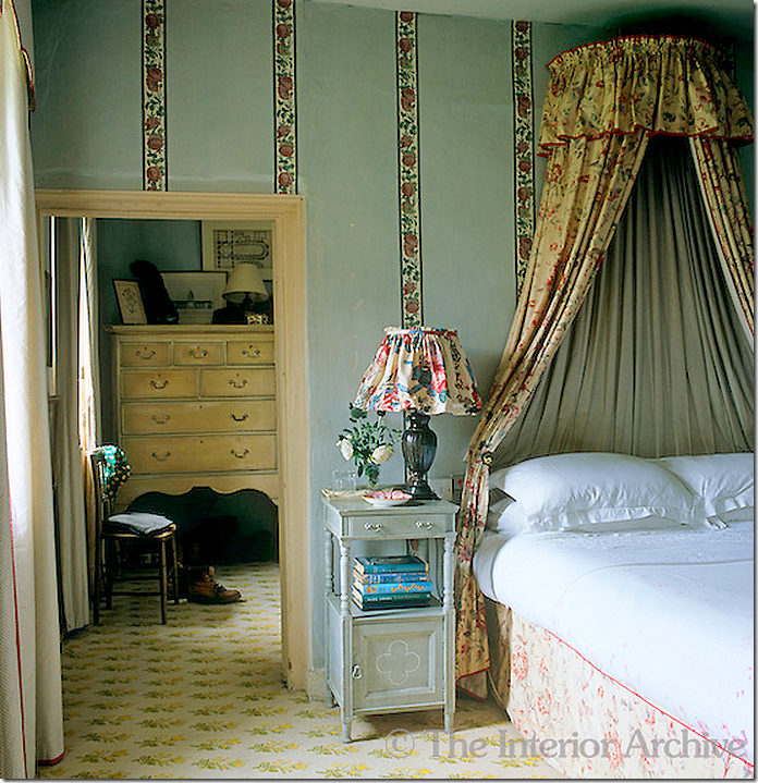 Hunting Lodge Bedroom: His Bedroom At His Hunting Lodge, Former