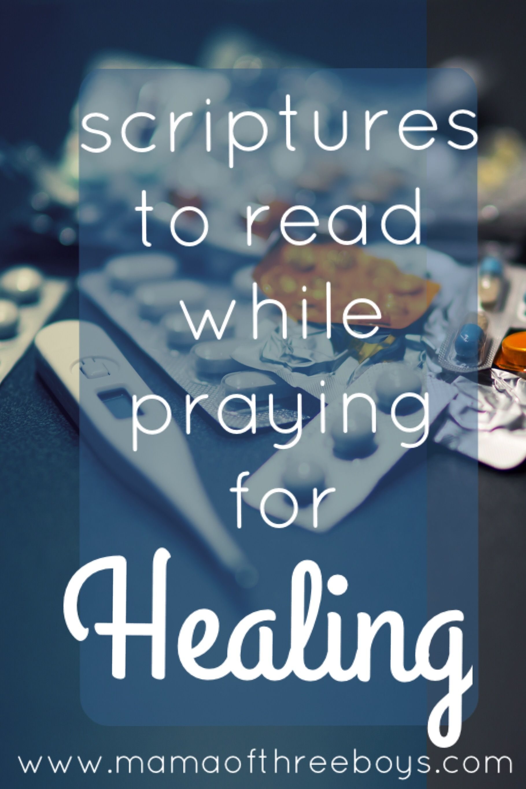 Scriptures to read while praying for Healing - | prayer and