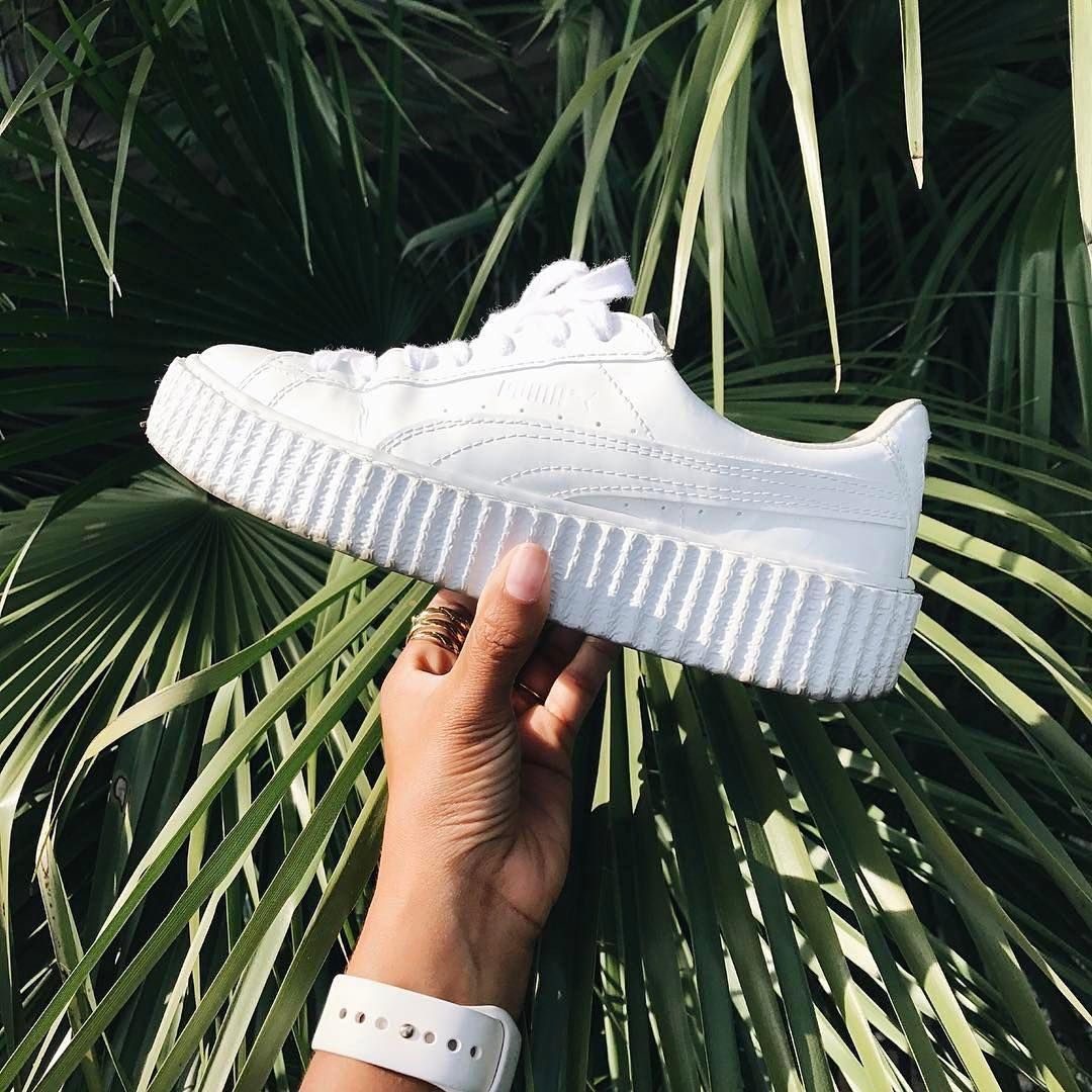 927cd123b50e PUMA Women s Shoes - Sneakers women - Puma Fenty Creeper white - Find deals  and best selling products for PUMA Shoes for Women