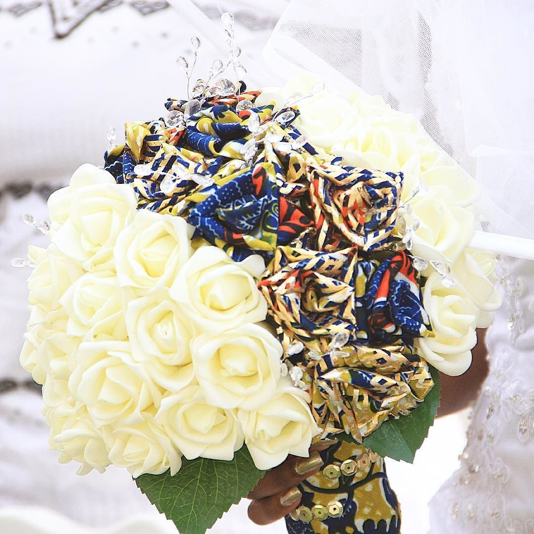 My ever loving ankara brides bouquet this was handmade for me by my ever loving ankara brides bouquet this was handmade for me by a lady in reviewsmspy