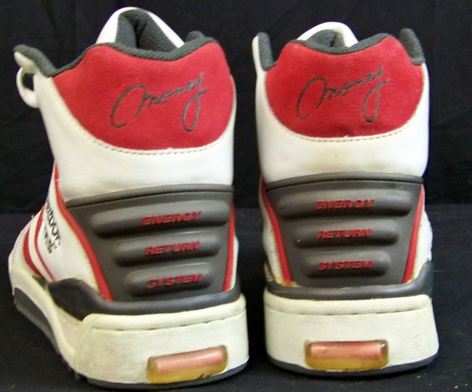 promo code 41140 10a81 Vintage Deadstock Reebok ers Money High Top Basketball Shoes Wearable Size  12   eBay