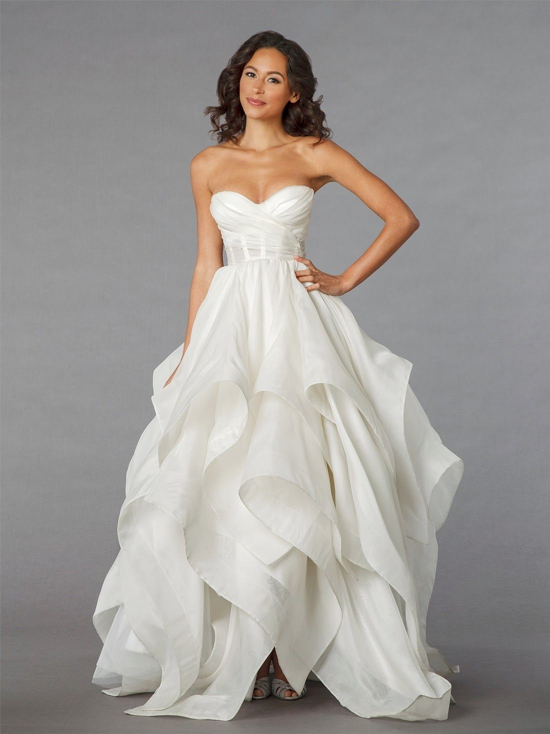 pnina tornai handkerchief skirt - Google Search | Wedding Attire ...