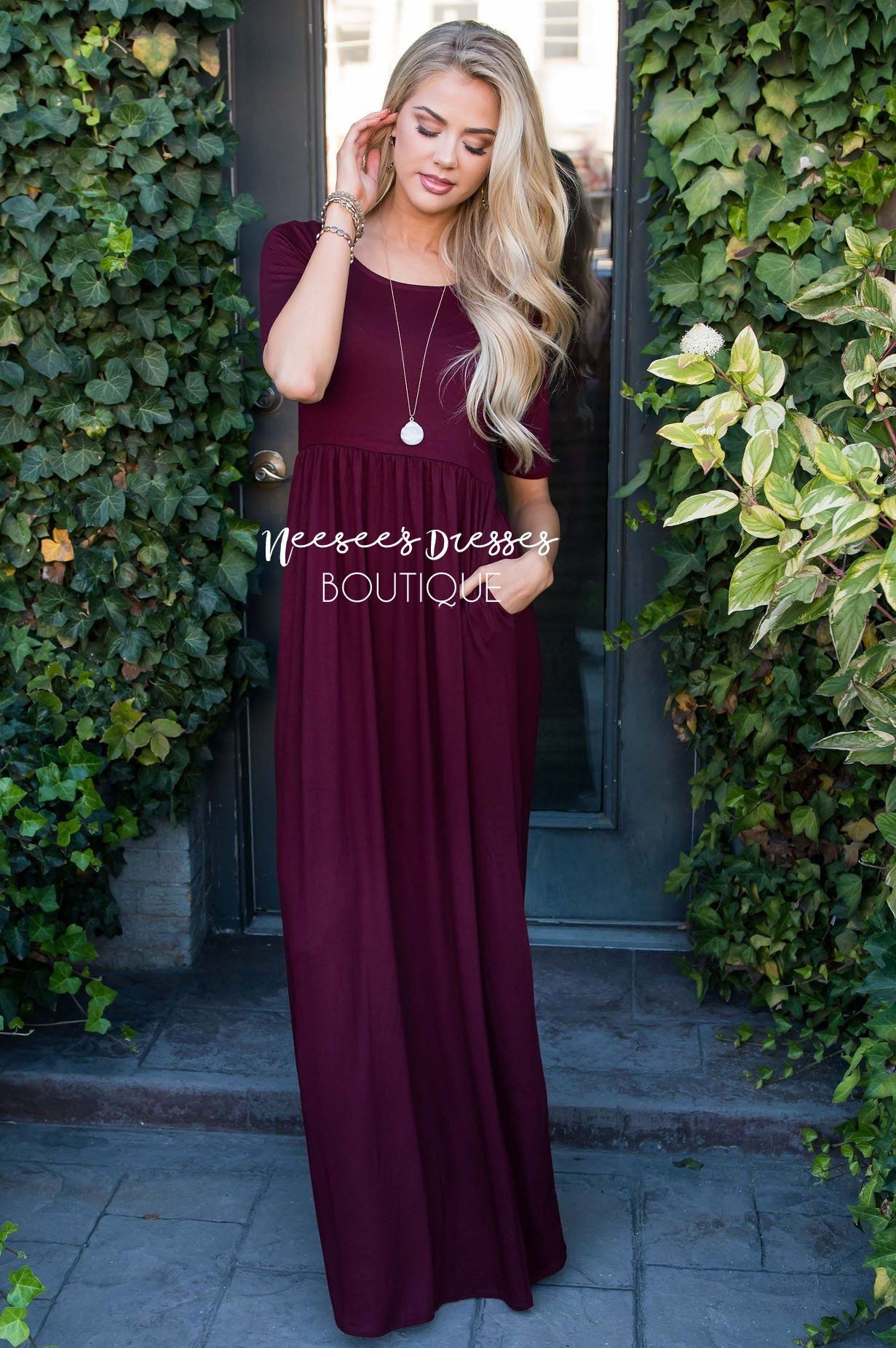 The Ritchie 3 4 Length Sleeve Maxi Dress Maxi Dress With Sleeves Maxi Dress Classy Dress [ 1850 x 1231 Pixel ]