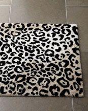 Leopard Bath Rugs Rug