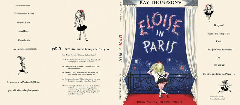 Eloise in Paris. Kay Thompson, Hilary Knight.