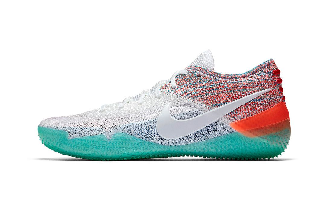 Nike Unveils The Kobe Ad Nxt 360 In A New Multi Color Palette Nike Best Sneakers Basketball Shoes Kobe