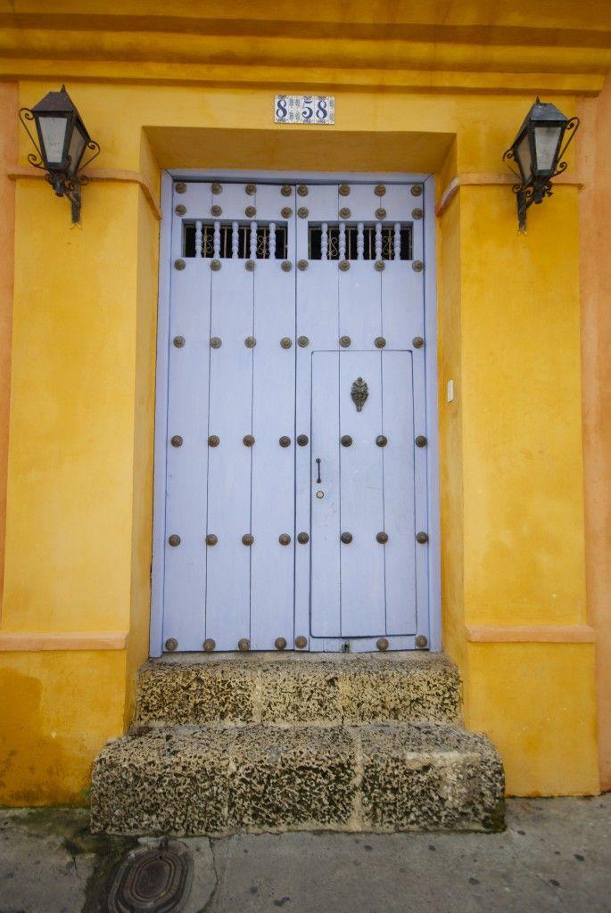 #858 grey door. By Michael Hodson. Cartagena Columbia. 000 & 858 grey door. By Michael Hodson. Cartagena Columbia. 000   Cool ...