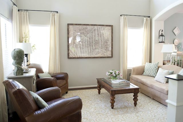 Restoration Hardware Stone Gray Living Room Paint Colors For Family