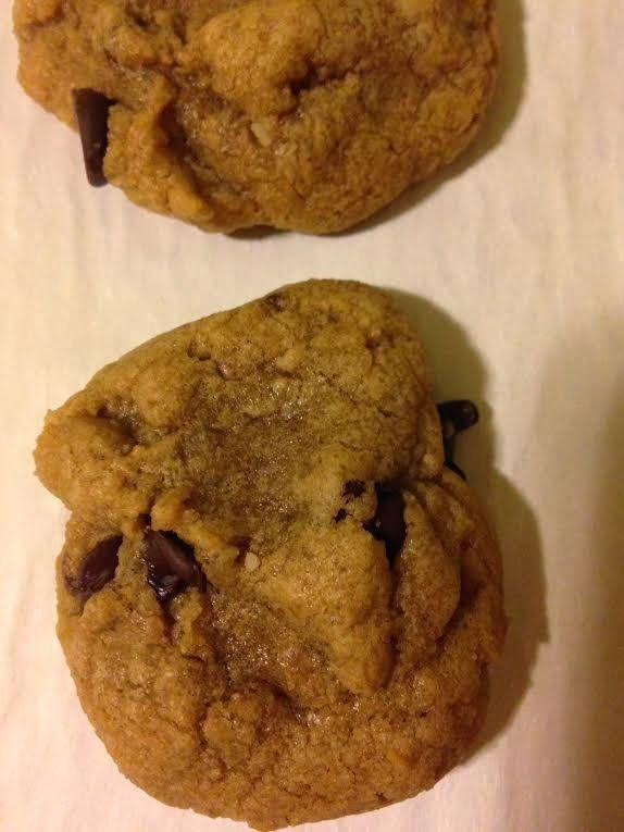 Cooking with Milton: Sunbutter Chocolate Chip Cookies - The Leftovers Club