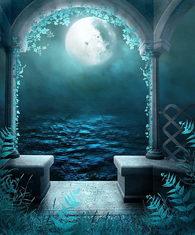Anime Wonderland Romantic Background