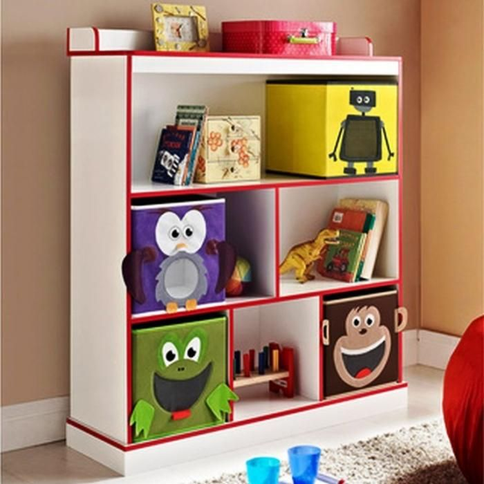 10 Great And Colorful Kids Bookshelves Bedroom
