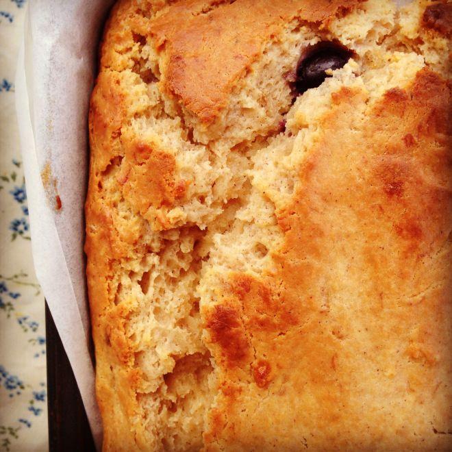 blueberry banana bread   Blueberry banana bread, Baby food ...