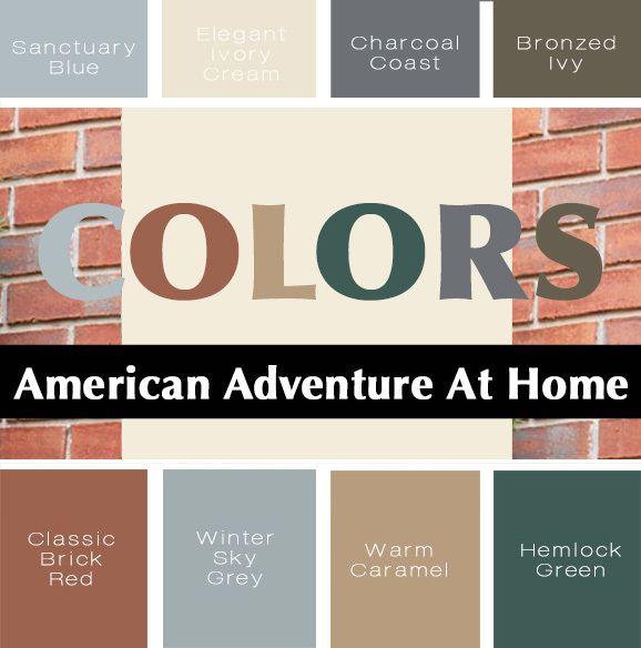 Colors From The U S A My Colortopia Glidden Paint Colors Color Creative Colour
