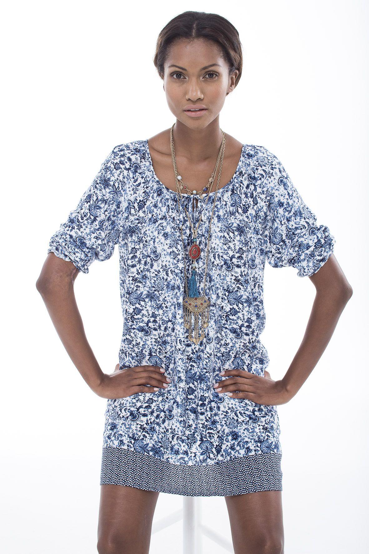 a86eff87616 The printed tunic dress. #miladys #dress | Clothing etc. | Fashion ...