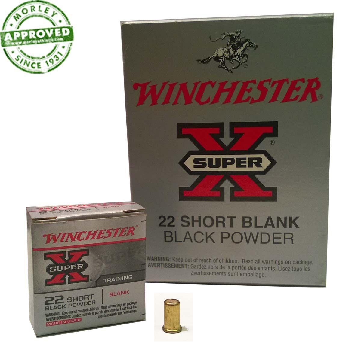 Winchester  22 Caliber Blanks For Starter Pistol | Starter