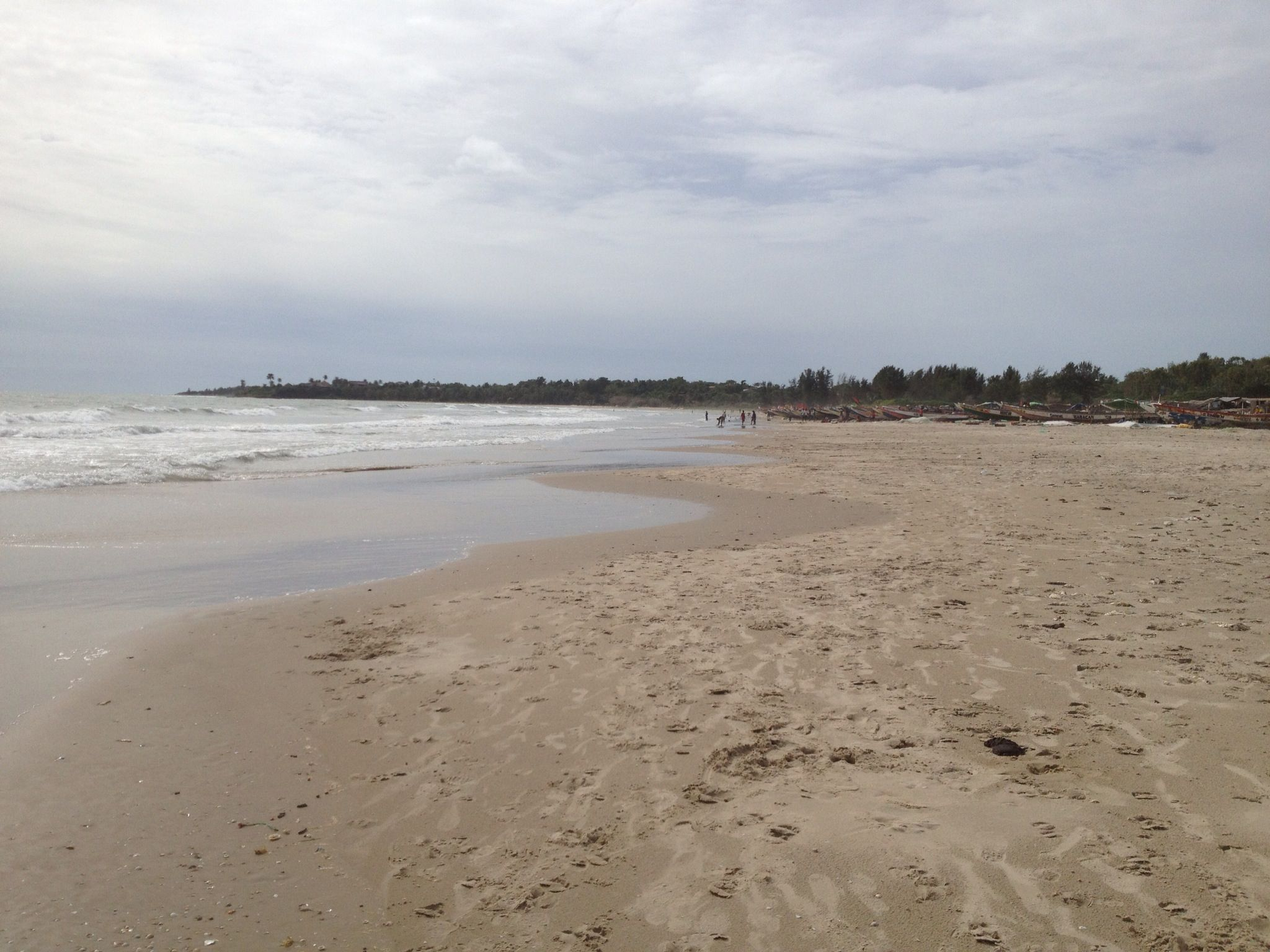 Beach in Cap Skirring, Senegal