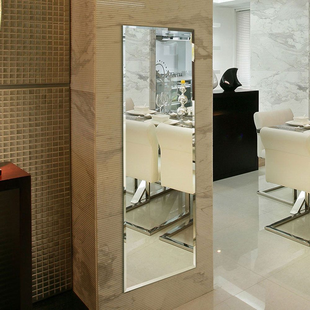 Wall mounted full length wall mirror 18x57 extra large long wall mounted full length wall mirror 18x57 extra large long dressing mirror amipublicfo Image collections