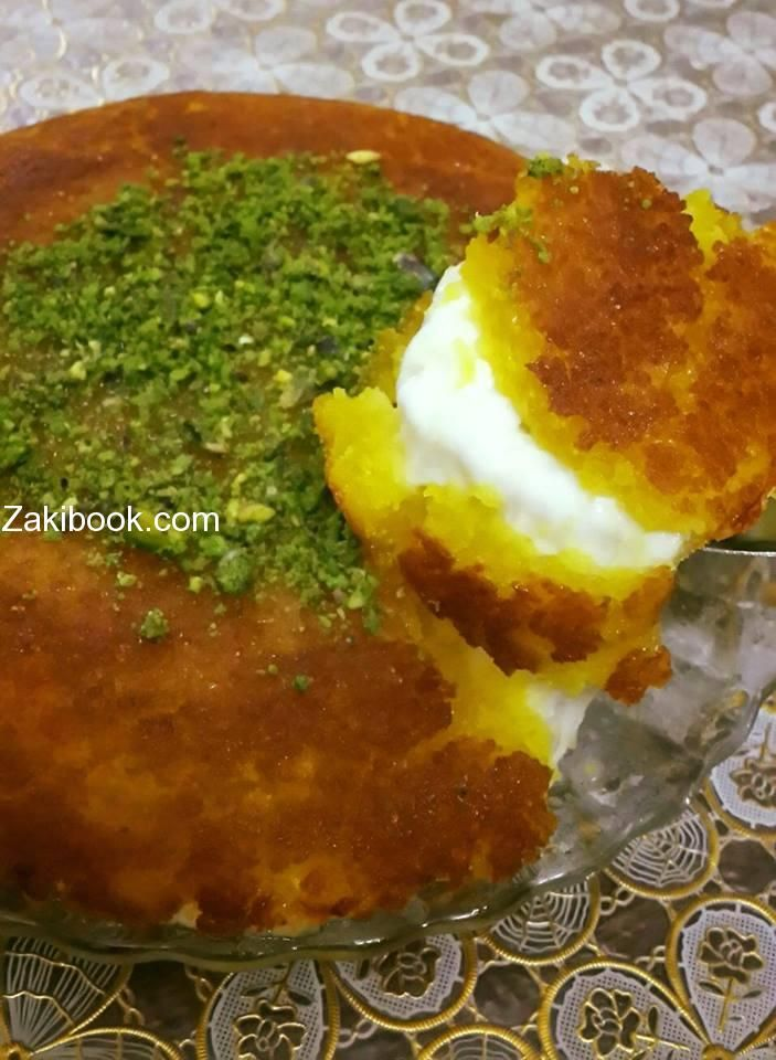 كنافة المقلايه عملتها بطريقة سهلة جدا زاكي Moroccan Food Arabic Food Arabic Dessert