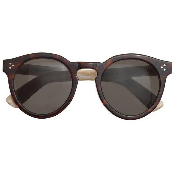 J.Crew Illesteva Leonard Ii Sunglasses (83.865 HUF) ❤ liked on Polyvore  featuring accessories 53a35baa05