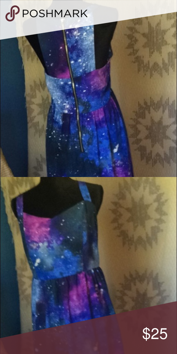 Forever 21+ Galaxy dress Forever 21+ plus sizes 2X. Galaxy ...