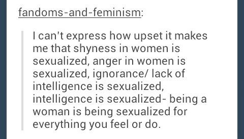 Facts about sexualization