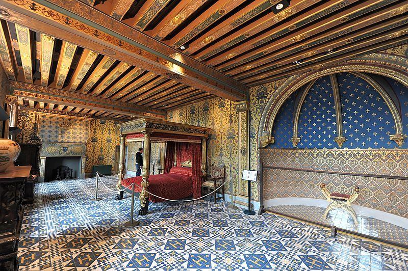 Chateau De Blois Aile Francois 1er Chambre Du Roi Avec Images