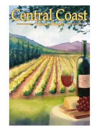 Pismo Beach, California - Wine Country