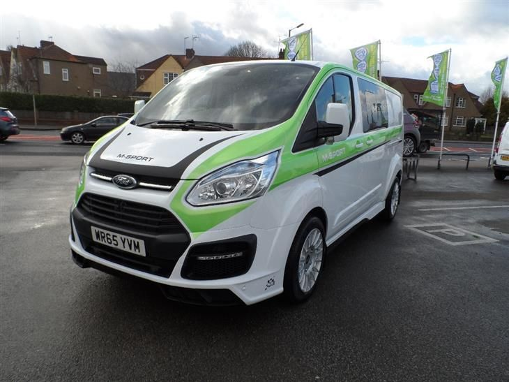 Ford Transit Custom 290 L2 M Sport Double Cab Van 2 2 Tdci 155ps