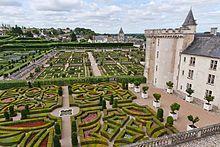 Jardins du château de Villandry.